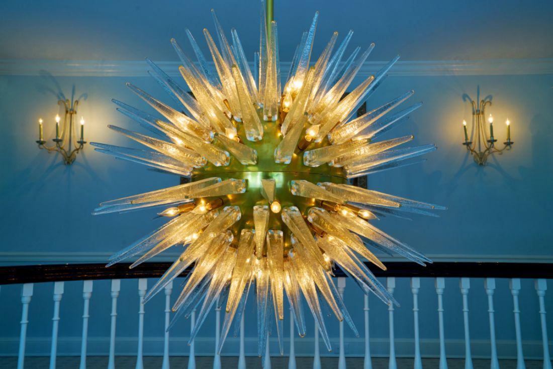 chandelier-blue-lighting-fixture-bryn-mawr-pa