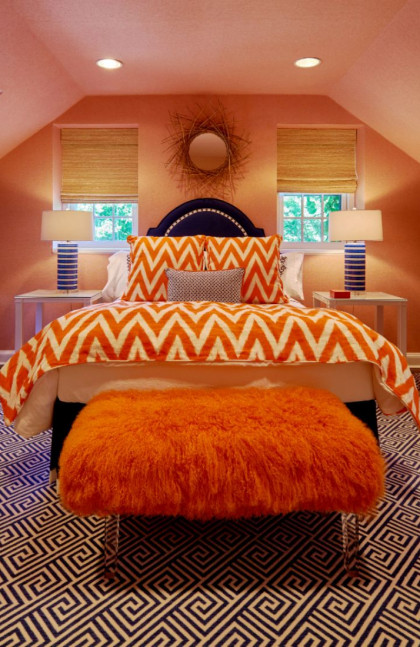 guest-room-orange-bedspread-fuller-interiors-design