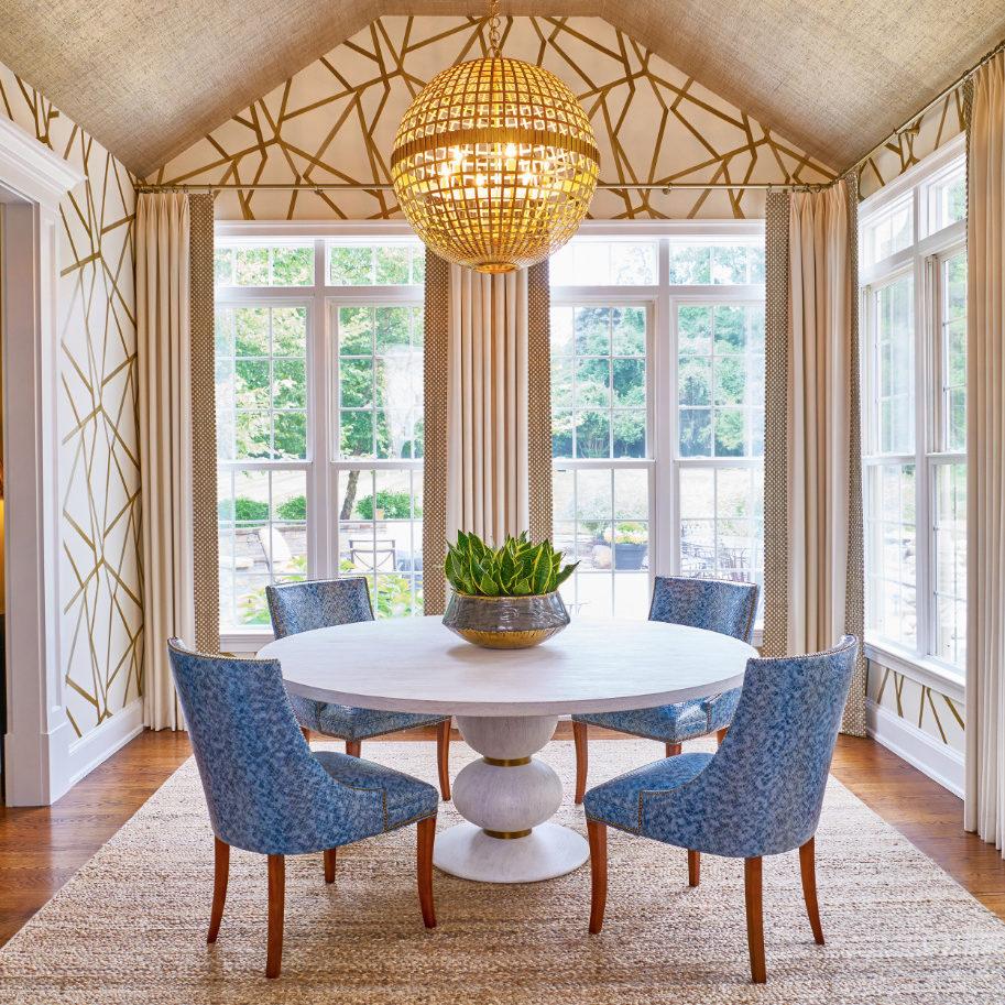 breakfast-room-villanova-pa-blue-chairs