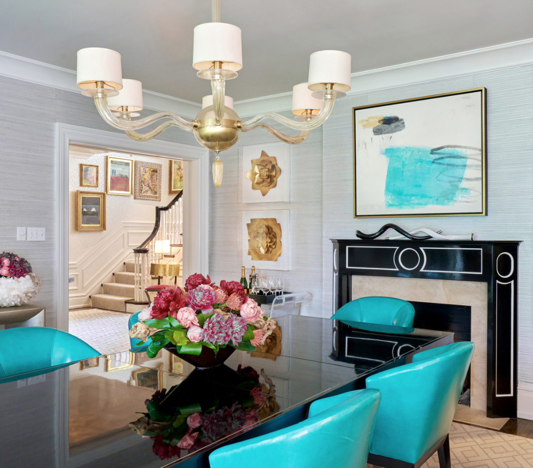 dining-room-interior-design-teal-chairs-fuller-interiors