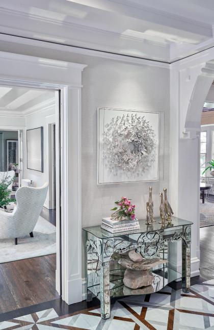 foyer-hallway-table-wayne-pa-fuller-interiors