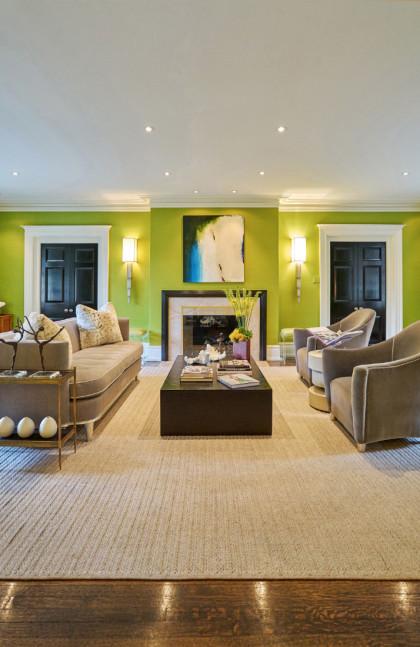 living-room-green-walls-bryn-mawr-pa