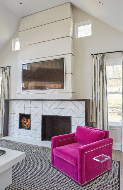 family-room-hot-pink-chair-interior-design-radnor-pa