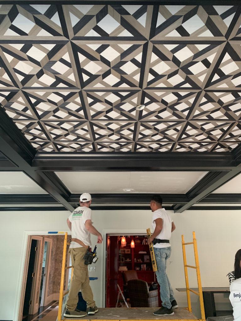 Fuller Interiors Ceiling Detail After Interior Design