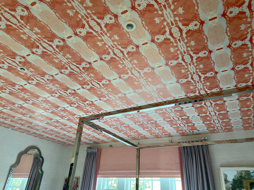 Bedroom Ceiling Wallpaper Fuller Interiors