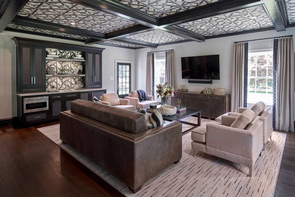 Haverford Pa Wallpaper Ceiling Interior Design Fuller Interiors