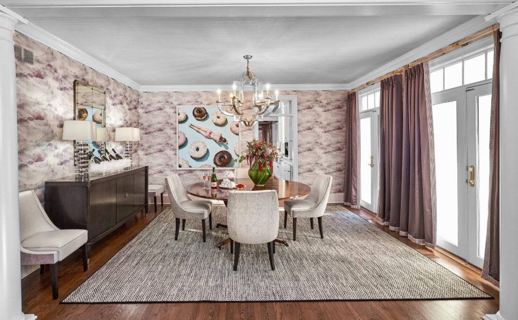 Painted Ceiling Fuller Interior Design