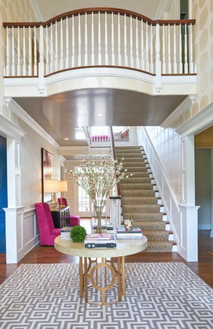 Staircase Interior Design Villanova Pa Fuller Interiors 420x647 1