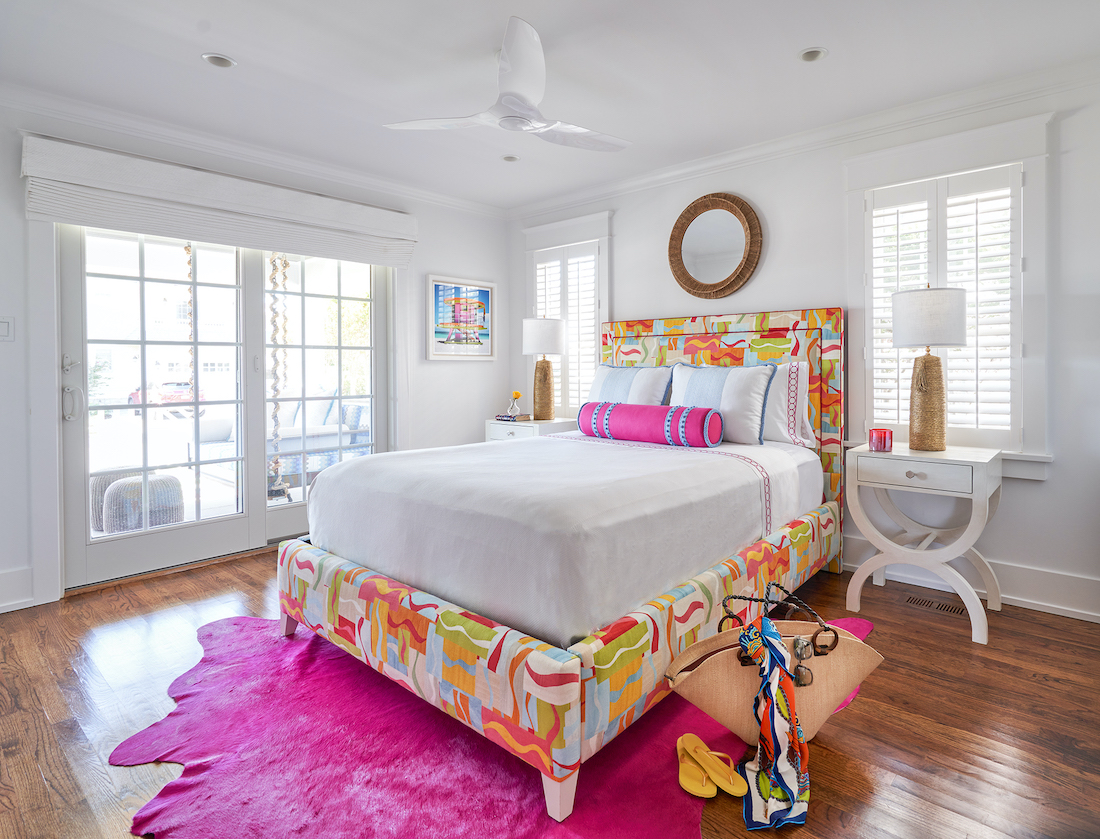 fuller-interiors-colorful-bedroom-interior-design-hot-pink-accent-rug